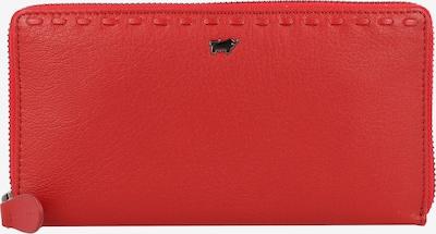 Braun Büffel Portemonnee 'Soave' in de kleur Rood, Productweergave