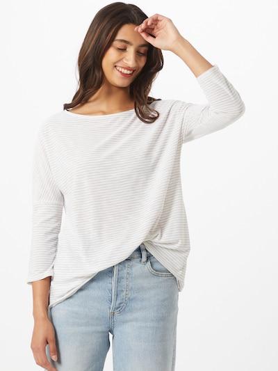 CRAGHOPPERS Funkcionalna majica 'Shelby' | svetlo siva / off-bela barva: Frontalni pogled