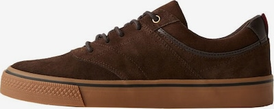 MANGO MAN Sneaker 'Puxet' in braun: Frontalansicht