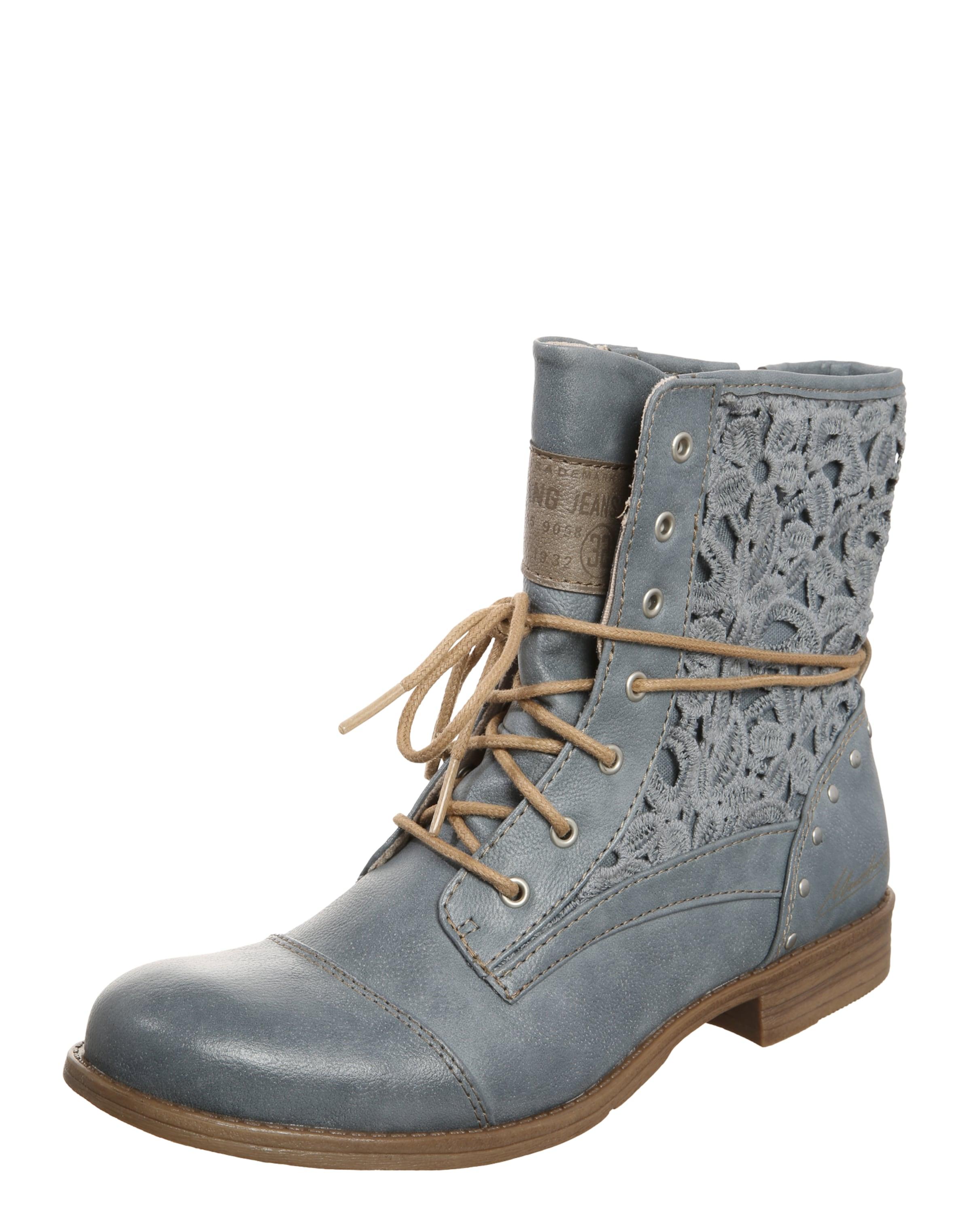 MUSTANG Stiefelette Macrame Verschleißfeste billige Schuhe