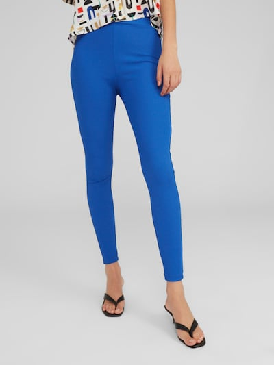 EDITED Leggings 'Shaylee' in blau, Modelansicht