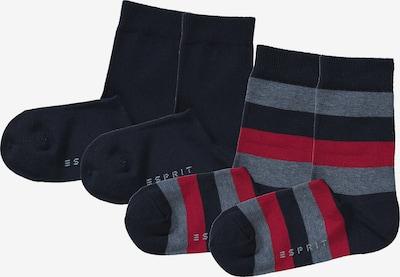 ESPRIT Socken in nachtblau / rot, Produktansicht
