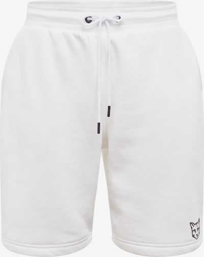 Pantaloni 'Linus' ABOUT YOU X PARI pe alb, Vizualizare produs