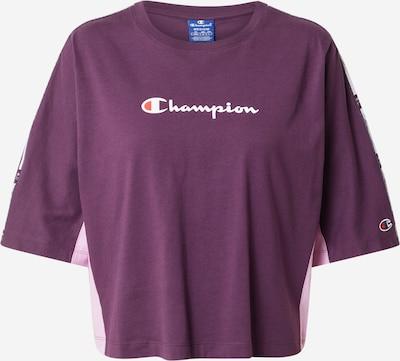 Champion Authentic Athletic Apparel T-Shirt in helllila / dunkellila / weiß, Produktansicht