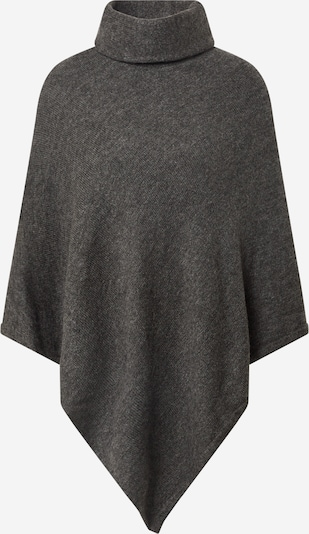 ONLY Poncho 'ONLELONA  L/S PONCHO EX KNT' in dunkelgrau / graumeliert, Produktansicht
