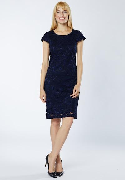 Young Couture by BARBARA SCHWARZER Kleid in blau, Modelansicht