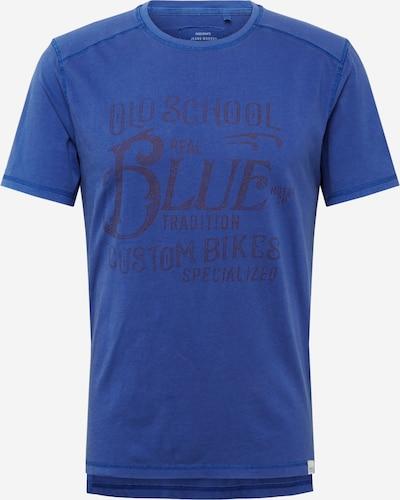 Only & Sons Shirt 'MICK' in de kleur Blauw / Donkerrood, Productweergave