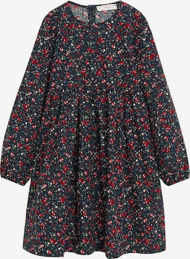 MANGO KIDS Kleid in navy / mischfarben, Produktansicht