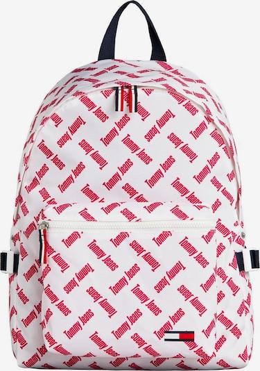 Tommy Jeans Rucksack in rot / weiß, Produktansicht