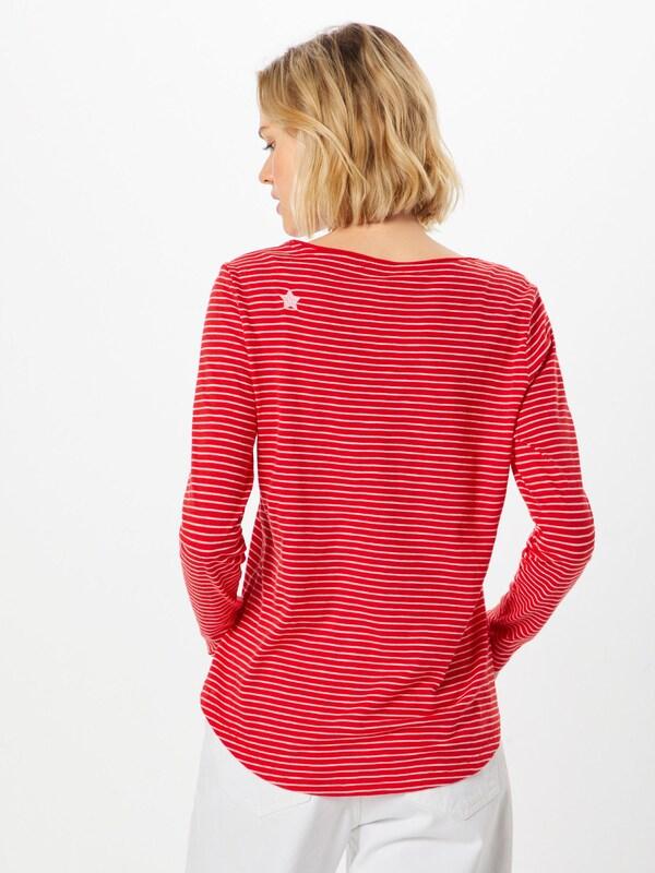 Red Rouge T shirt En S oliver Label ClairBlanc UqSVpGzM