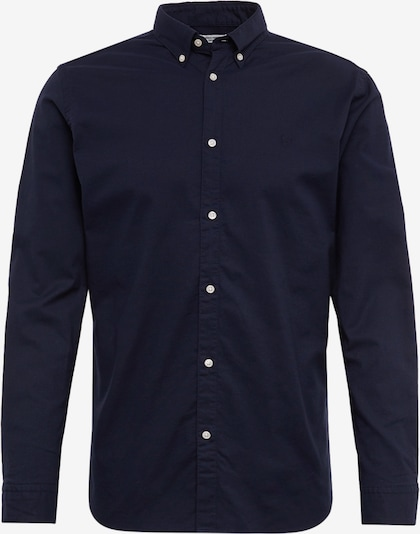JACK & JONES Hemd 'JPRLOGO STRETCH SHIRT L/S NOOS' in navy, Produktansicht