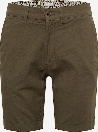 JACK & JONES Chinoshorts in grün / khaki, Produktansicht