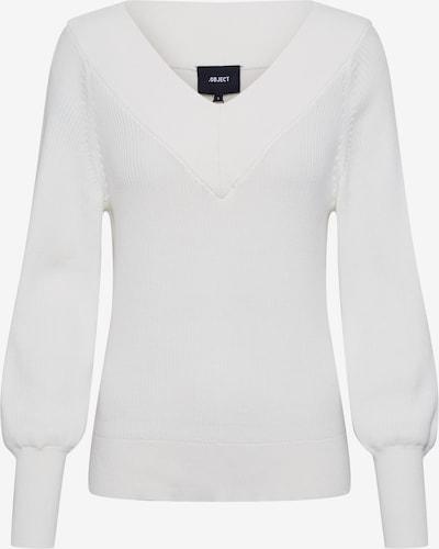 Pulover 'MANJA' OBJECT pe alb, Vizualizare produs