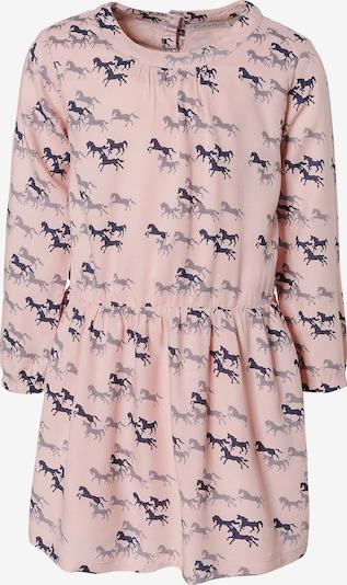MINYMO Kleid in navy / rosa, Produktansicht