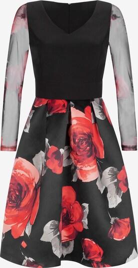 Nicowa Kleid 'WOLOANA' in rot / schwarz / weiß, Produktansicht