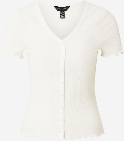NEW LOOK Shirt 'VARI' in offwhite, Produktansicht
