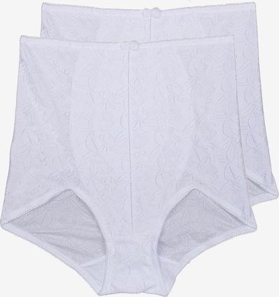 sassa Miederslip 'SHINY JACQUARD' in weiß, Produktansicht