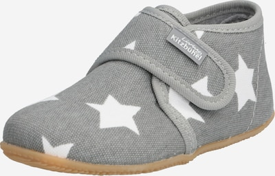 Living Kitzbühel Slipper in light grey / white, Item view
