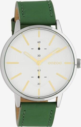 OOZOO Quarzuhr in grün / weiß, Produktansicht