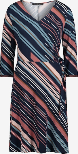 Betty Barclay Kleid in rauchblau / dunkelblau / pastellrot / naturweiß, Produktansicht