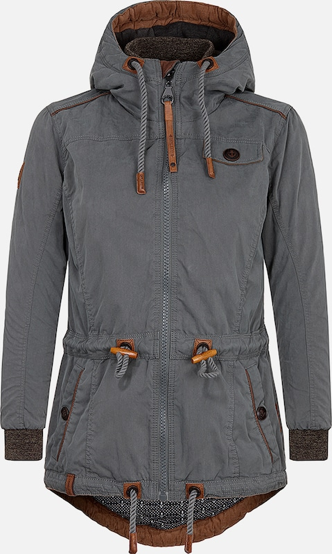 naketano damen jacke the magic stick pimmel jacket sand