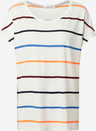 CECIL Shirt in blue / dark purple / red / white, Item view