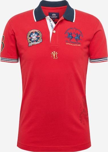 La Martina Poloshirt in rot, Produktansicht