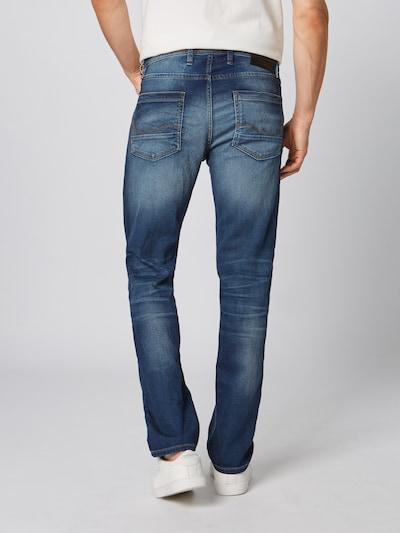 JACK & JONES Jeans 'Tim Leon' in blue denim: Rückansicht