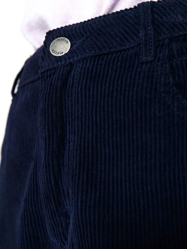 PIECES Kordsamt Hose Hose Hose in blau  Markenkleidung für Männer und Frauen 193cc7