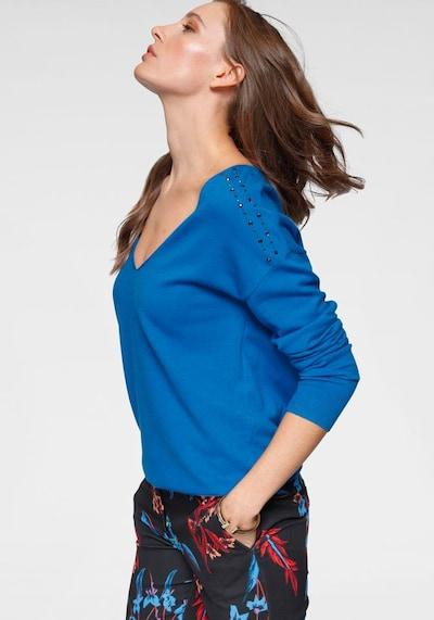 LAURA SCOTT Pullover in kobaltblau, Modelansicht