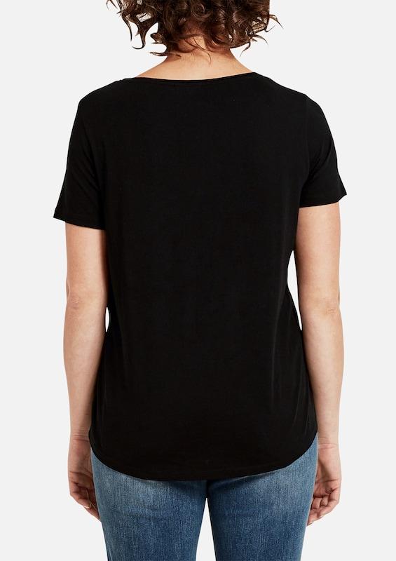 TRIANGLE Jerseyshirt mit Wording