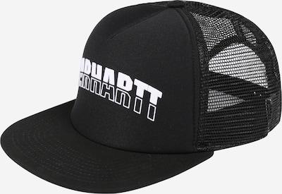 Carhartt WIP Casquette 'District Trucker' en noir / blanc, Vue avec produit