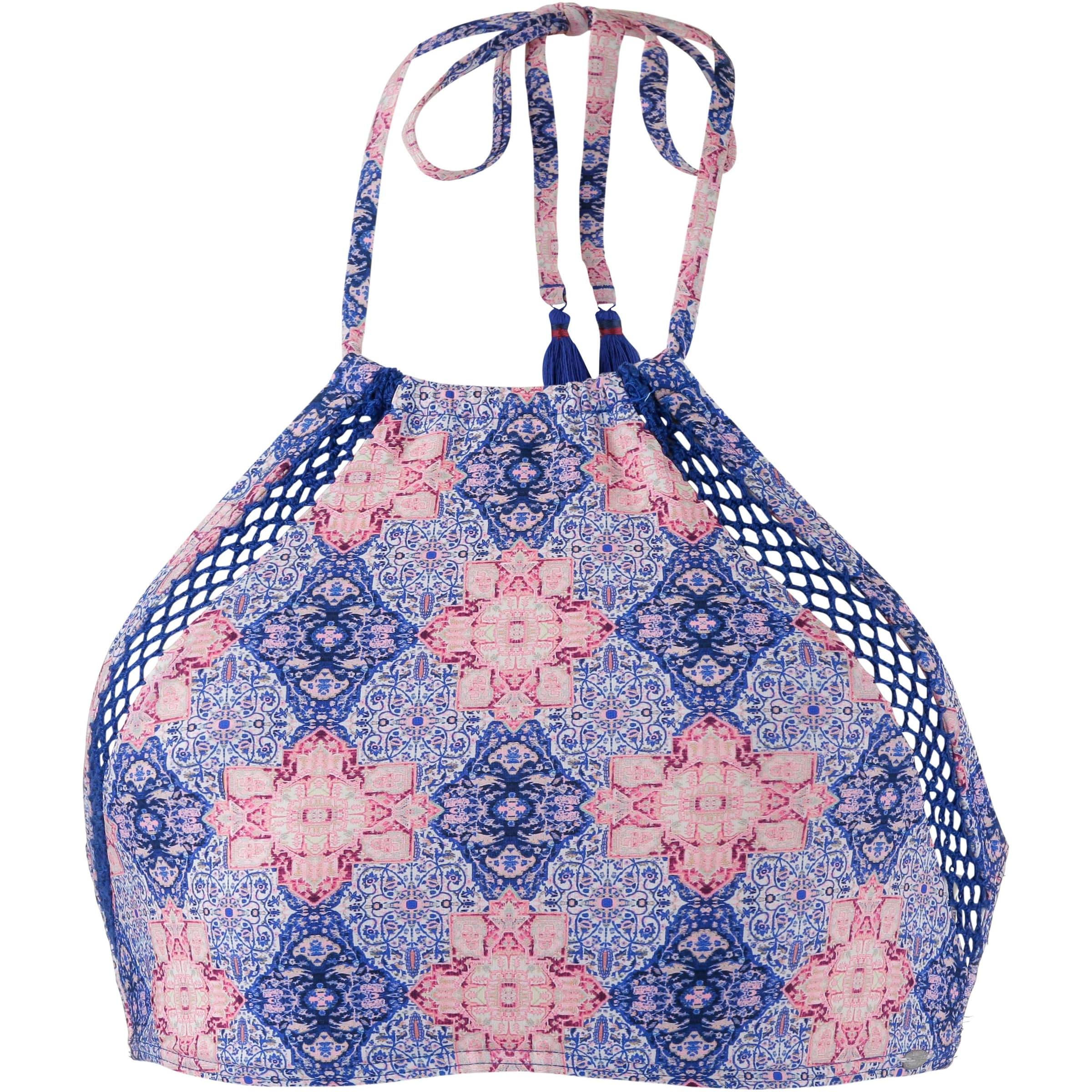 O'NEILL Bikiniöverdel 'Crochette' i mörklila / rosa