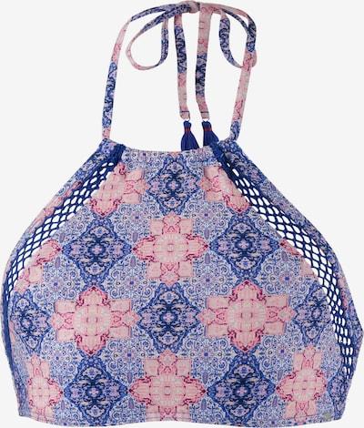 O'NEILL Bikini Oberteil 'Crochette' in dunkellila / rosa, Produktansicht