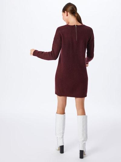 VERO MODA Obleka 'BLAKELY' | vinsko rdeča barva: Pogled od zadnje strani