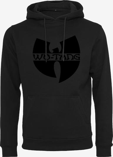 Mister Tee Hoody 'Wu-Wear' in schwarz: Frontalansicht