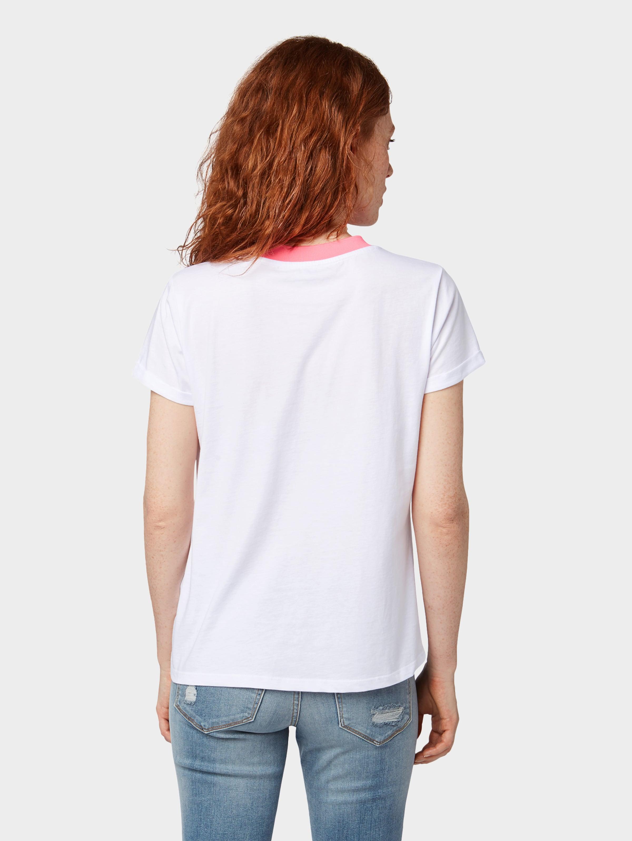 Tom In T RoséWeiß shirt Tailor Denim Lj34AR5