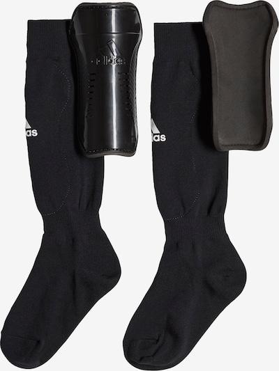 ADIDAS PERFORMANCE Socken mit integrierten Schienbeinschonern in schwarz, Produktansicht