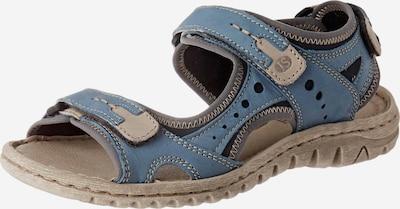 JOSEF SEIBEL Sandale in beige / hellblau, Produktansicht