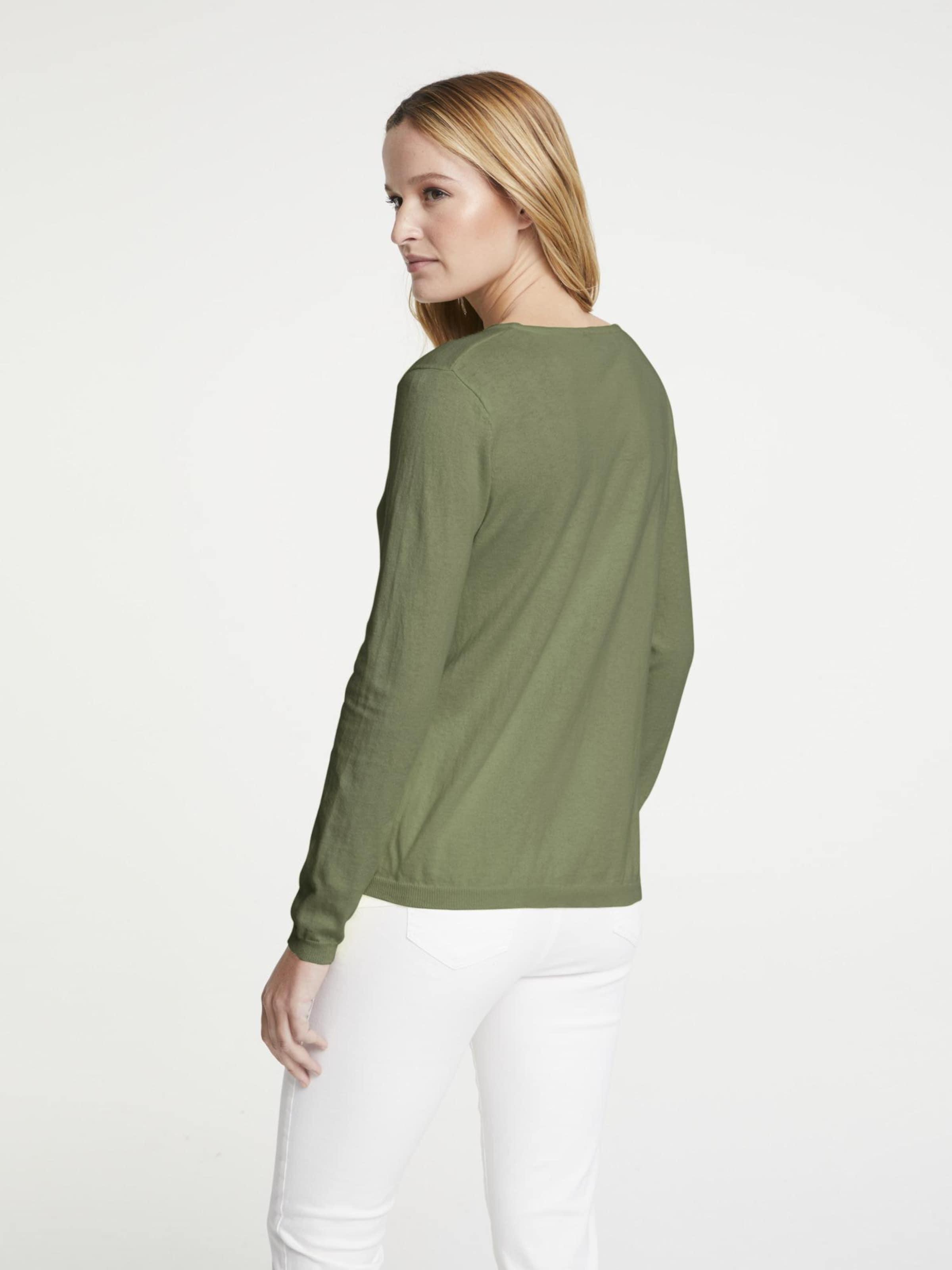 heine Pulóver 'TIMELESS' zöld színben