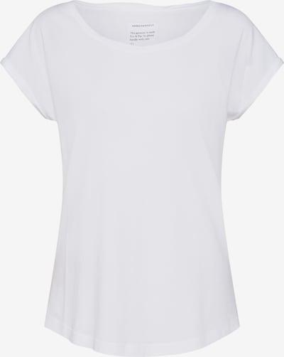 Tricou 'Lale' ARMEDANGELS pe alb, Vizualizare produs