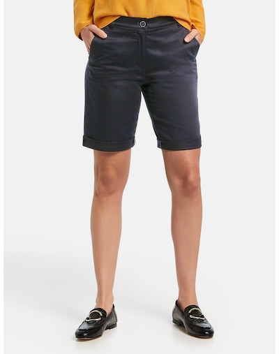 GERRY WEBER Bermuda in schwarz, Modelansicht