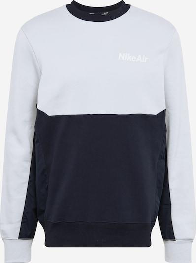 Nike Sportswear Sportsweatshirt in de kleur Lichtgrijs / Zwart, Productweergave
