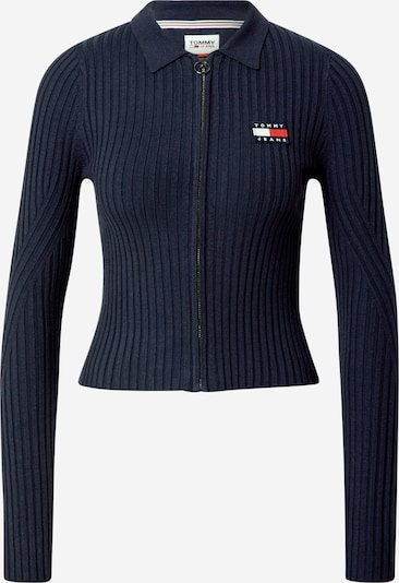 Tommy Jeans Strickjacke in navy, Produktansicht