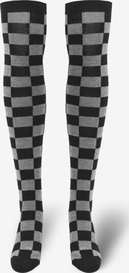 Urban Classics Socken in graumeliert / schwarz, Produktansicht