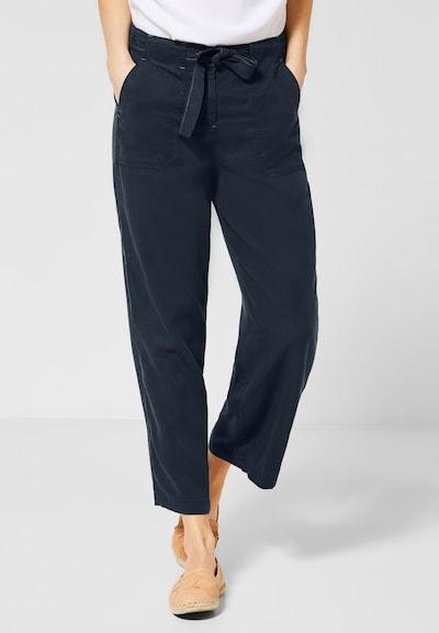 CECIL Wide Leg Hose in dunkelblau, Modelansicht
