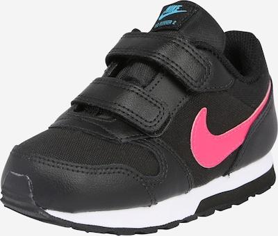 Nike Sportswear Tenisky 'RUNNER 2' - pink / černá: Pohled zepředu