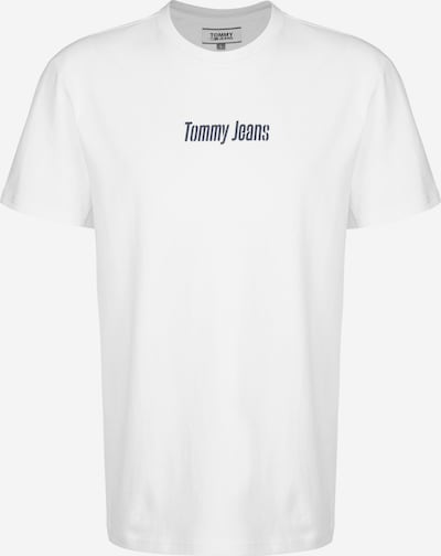 Tommy Jeans T-Shirt ' Text Back Logo ' in weiß, Produktansicht