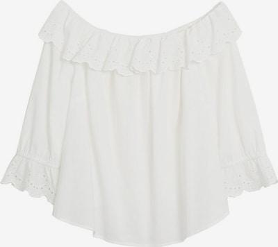VIOLETA by Mango Bluse in weiß, Produktansicht