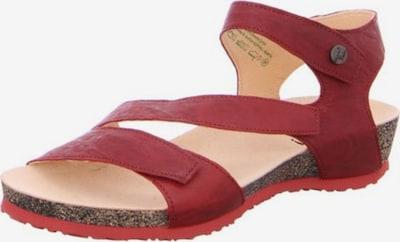 THINK! Sandale in dunkelrot, Produktansicht